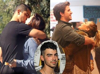 Demi Lovato, Wilmer Valderrama, Miley Cyrus, Liam Hemsworth, Joe Jonas