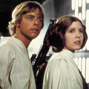 Mark Hamill, Carrie Fisher, Star Wars