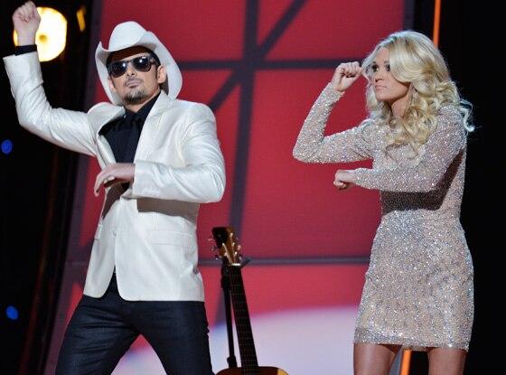 Brad Paisley, Carrie Underwood, CMA's
