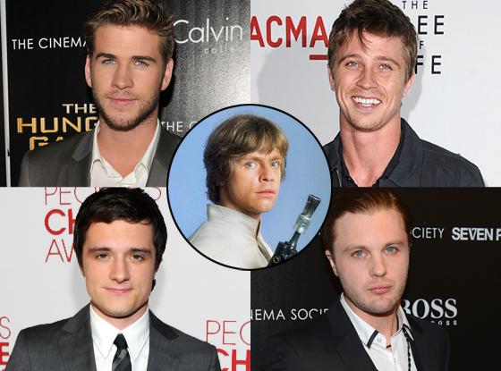 Liam Hemsworth Josh Hutcherson Garrett Hedlund, Michael Pitt, Mark Hamill