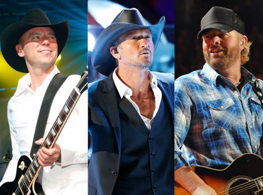 Toby Keith, Tim McGraw, Kenny Chesney