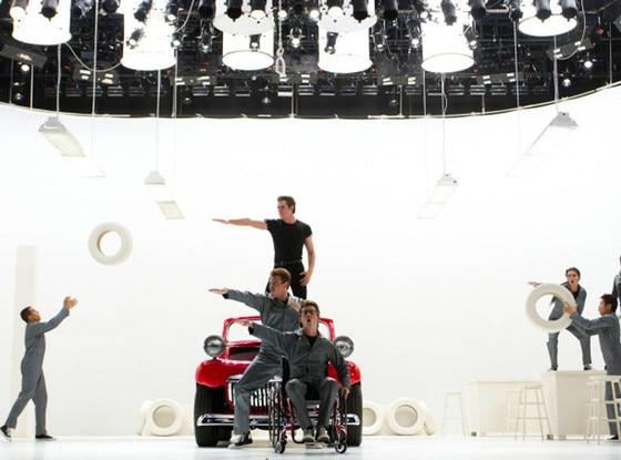 GLEE & Glee First Look: Go Glease Lightning! | E! News azcodes.com