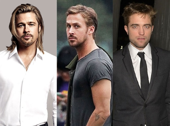 Brad Pitt, Ryan Gosling, Robert Pattinson