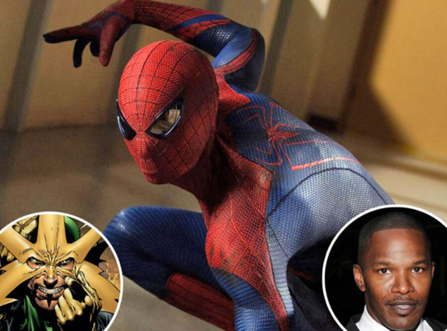 Jamie Foxx, Spider-Man, Electo