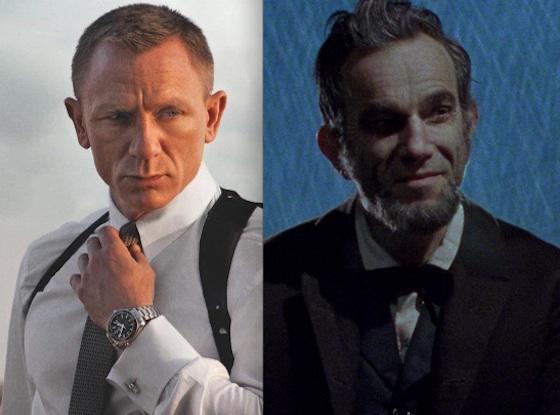 Daniel Craig, Skyfall, Daniel Day-Lewis, Lincoln