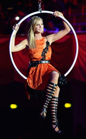 Heidi Klum, EMA Show