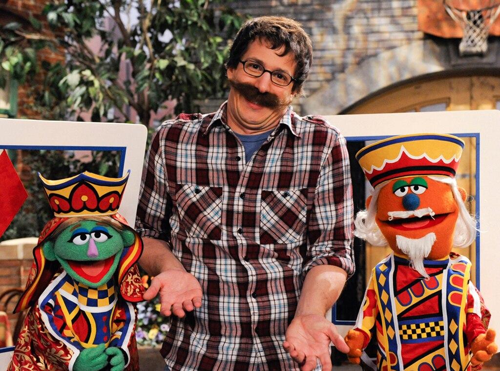 Andy Samberg, Celebs on Sesame Street