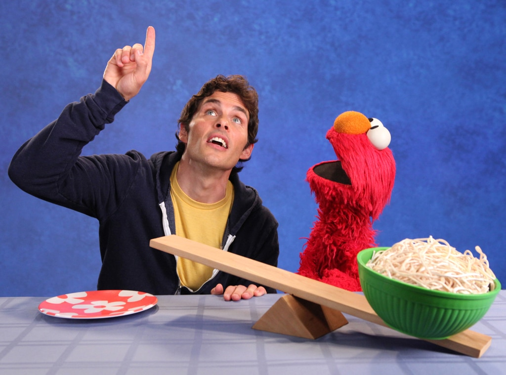 James Marsden, Celebs on Sesame Street