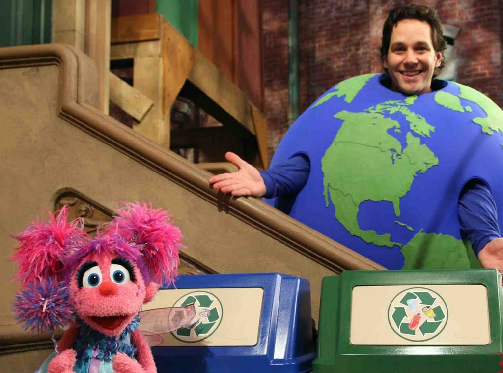 Paul Rudd, Celebs on Sesame Street
