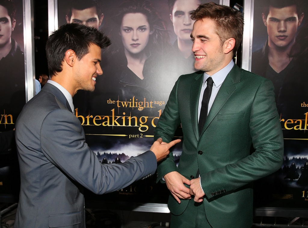 Taylor Lautner, Robert Pattinson, Breaking Dawn Part 2 Premiere
