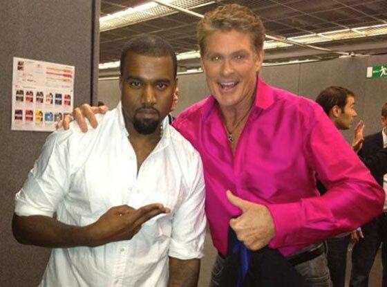 David Hasselhoff, Kanye West