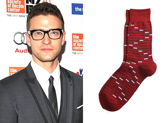 Justin Timberlake, Richer Poorer Socks