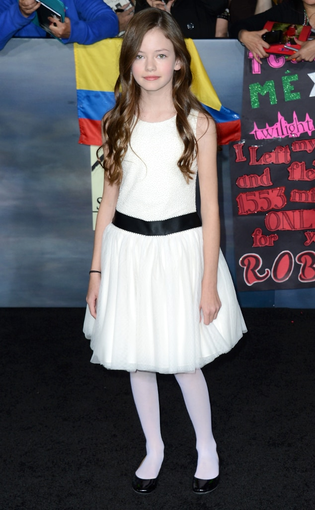 Mackenzie Foy, Breaking Dawn Part 2 Premiere