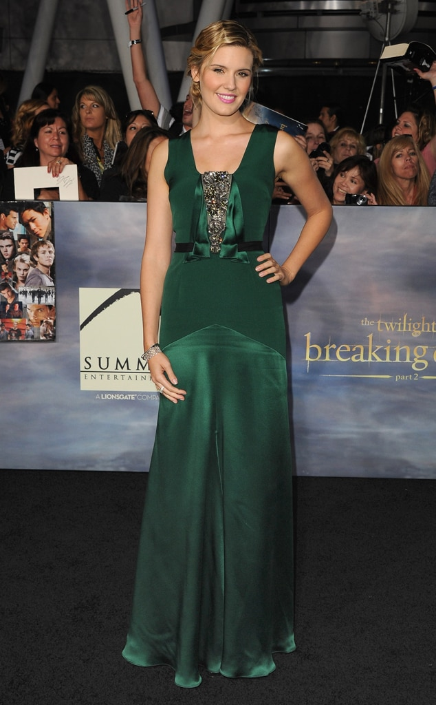 Maggie Grace, Breaking Dawn Part 2 Premiere