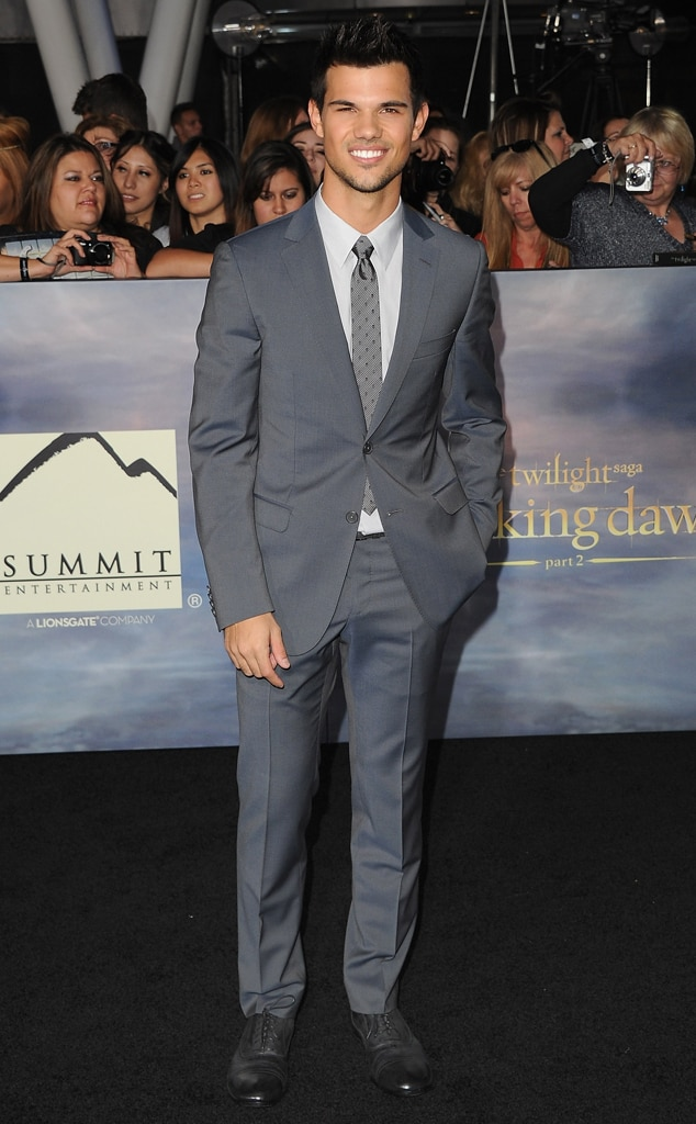 Taylor Lautner, Breaking Dawn Part 2 Premiere