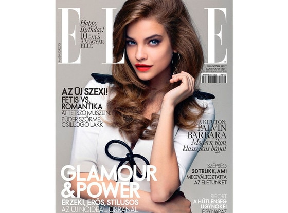 Barbara Palvin, Elle Magazine