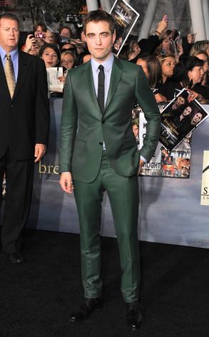 Robert Pattinson, Breaking Dawn Part 2 Premiere
