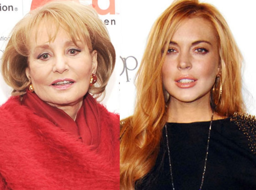 Barbara Walters, Lindsay Lohan
