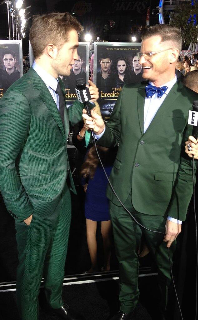 Marc Malkin, Robert Pattinson, Twit Pic