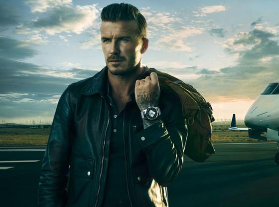David Beckham, Breitling