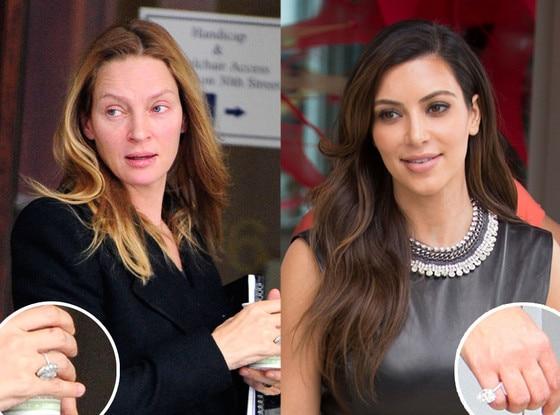 Uma Thurman, Kim Kardashian