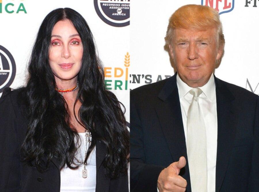 Cher, Donald Trump