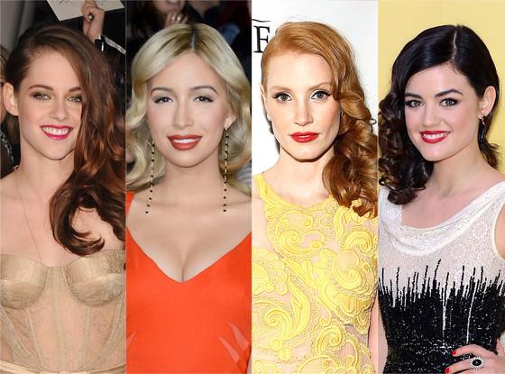Kristen Stewart, Christian Serratos, Jessica Chastain, Lucy Hale