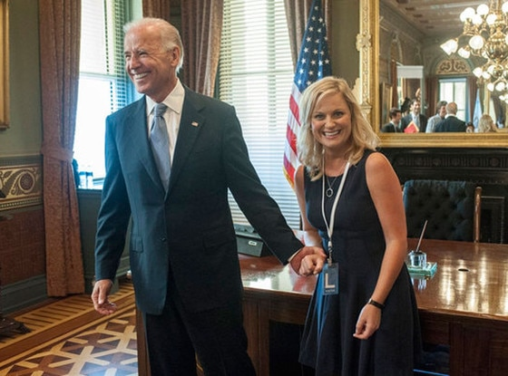 Parks and Recreation, Amy Poehler, Joe Biden