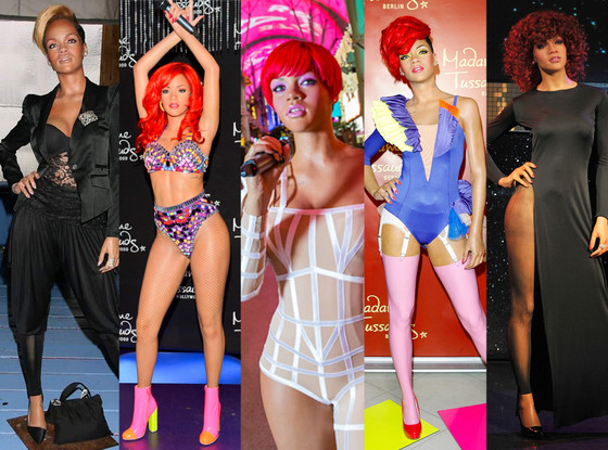 Rihanna, Madame Tussauds Wax Figure