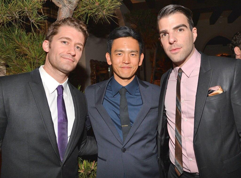 Matthew Morrison, John Cho, Zachary Quinto