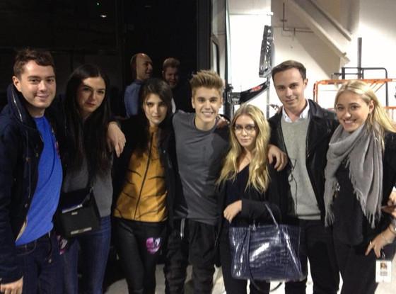 Justin Bieber, Ashley Olsen, Twitter