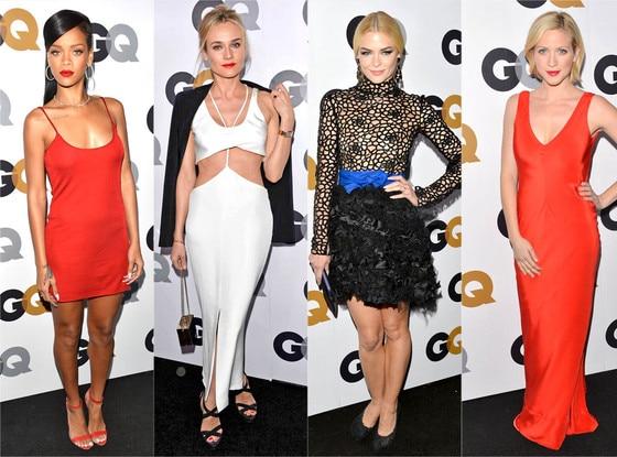 GQ, Rihanna, Diane Kruger, Jaime King, Brittany Snow