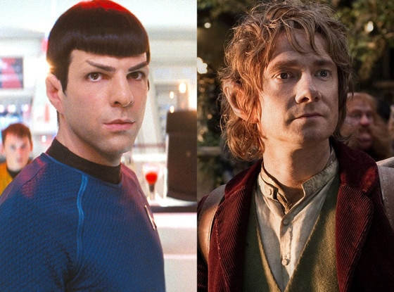 Star Trek, Zachary Quinto, Martin Freeman, The Hobbit