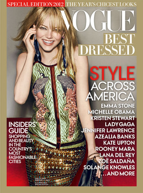 Emma Stone, Vogue Best Dressed