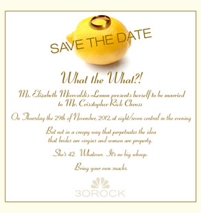 30 Rock, Save the Date