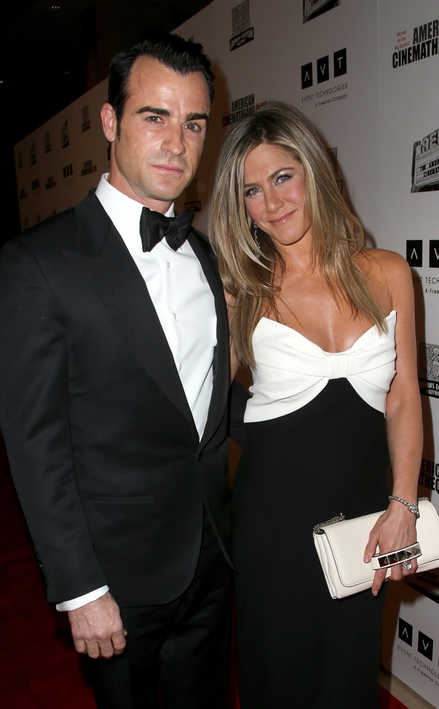 Jennifer Aniston & Justin Theroux: Romance Rewind