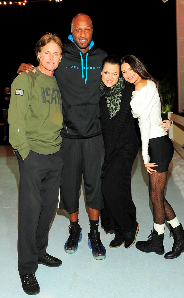 Bruce, Lamar Odom, Khloe, Kendall Jenner, 17th Birthday Party