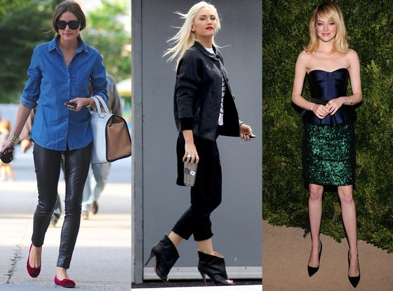 Olivia Palermo, Gwen Stefani, Emma Stone