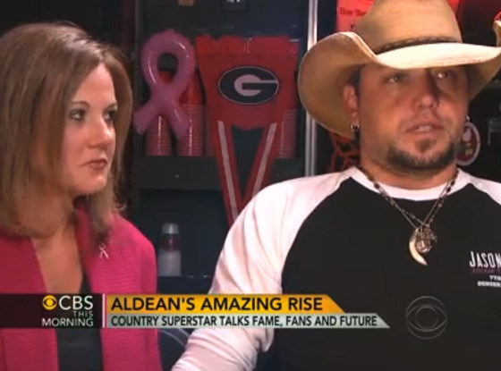 Jason Aldean, CBS This Morning