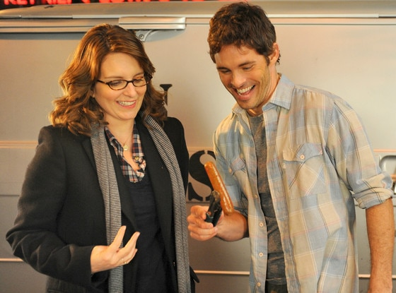 Tina Fey, James Marsden, 30 Rock