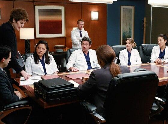 Grey's Anatomy, MEEGHAN HOLAWAY, SARA RAMIREZ, PATRICK DEMPSEY, KEVIN MCKIDD, ELLEN POMPEO, SANDRA OH