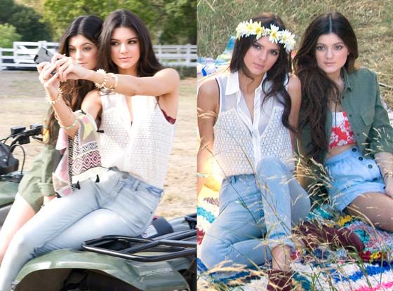 Kendall Jenner, Kylie Jenner, PacSun