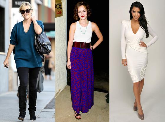 Reese Witherspoon, Leighton Meester, Kim Kardashian