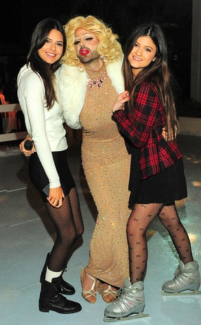 Kendall Jenner, Kylie Jenner, 17th Birthday Party