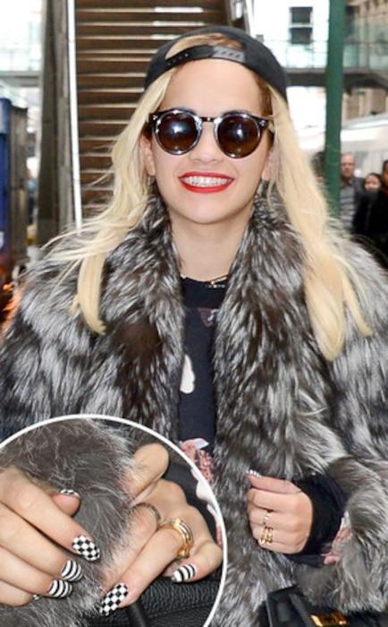 Rita Ora, Nails