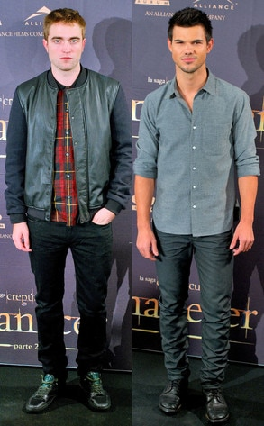 Robert Pattinson, Taylor Lautner