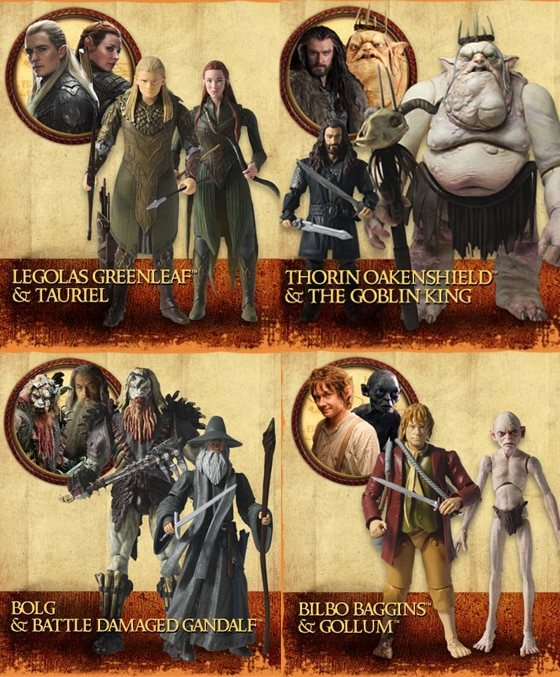 Hobbit action figures