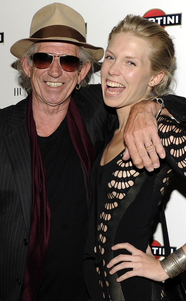 Keith Richards, Theodora Richards