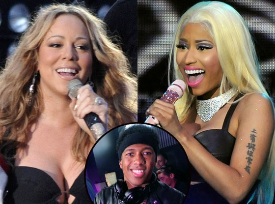 Nicki Minaj, Mariah Carey, Nick Cannon