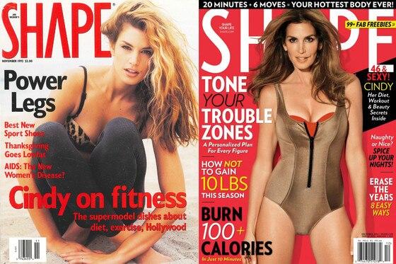 Cindy Crawford Shape Magazine